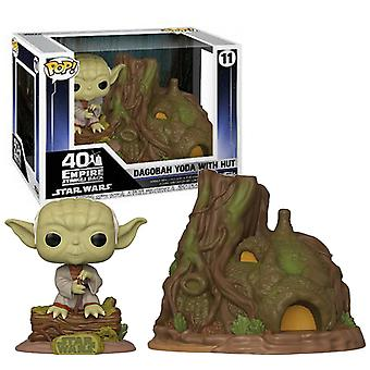 ¡Star Wars Yoda Hut Funko Pop!