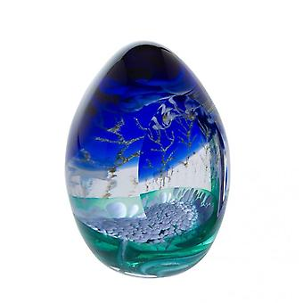 Caithness Glass Woodland Seasons Winter Paperweight