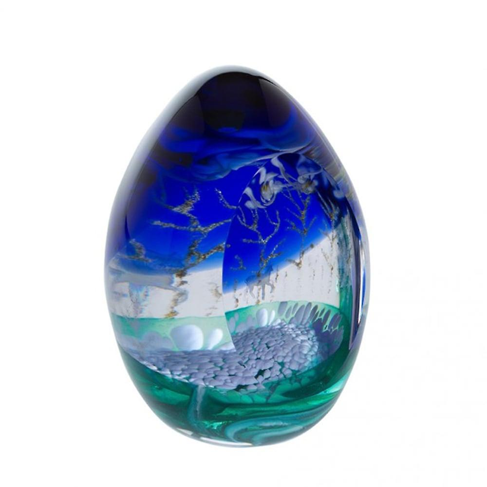 Caithness Glass Woodland Seasons Winter Paperweight