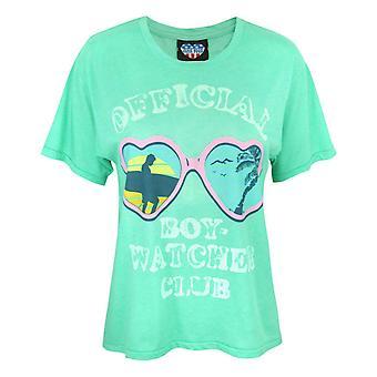 Junk Food  Boy Watcher Club Women's T-Shirt