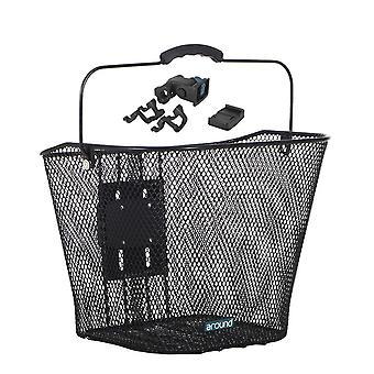 Around basic front wheel basket