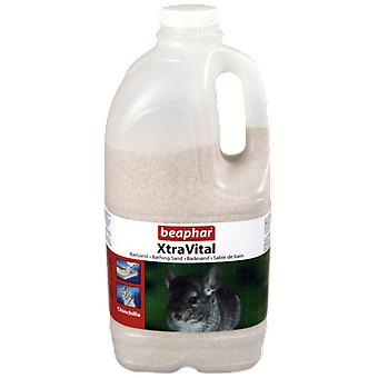 Beaphar XtraVital Chinchilla Bathing Sand (Small pets , Bedding)