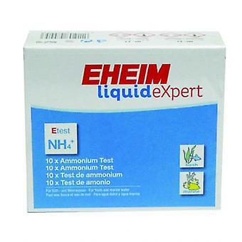 Eheim アンモニア 10 テスト (魚、メンテナンス、pH ・その他の物質のテスト ストリップ)