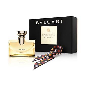 Bvlgari Splendida Iris D'Or Gift Set 100ml EDP + Sjaal (Deze cadeauset bevat: 1 x 100ml EDP 1 x Sjaal)