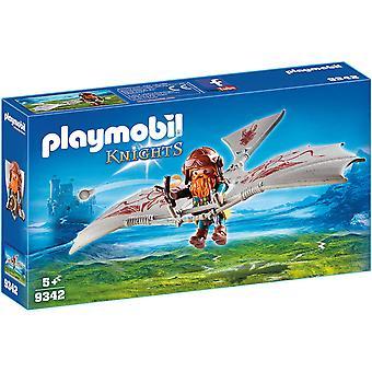 Playmobil 9342 Ritter Zwerg Flyer