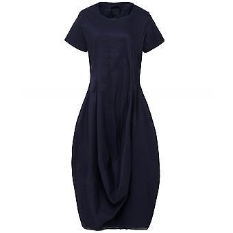 Rundholz Linen Blend Short Sleeve Dress