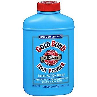 Gold bond foot powder, triple action relief, 4 oz