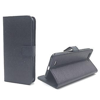 Mobile phone case pochette pour mobile ZTE lame V6 noir