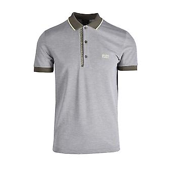 BOSS Athleisure Boss Paule 4 Slim Fit Polo Shirt Dark Green