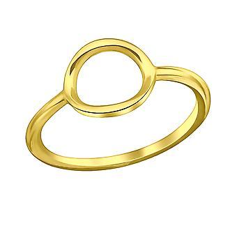Овал - 925 стерлингового серебра Обычная кольцо - W35282x