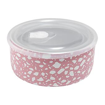 Ladelle Abode Pink Terrazzo Microwave Bowl