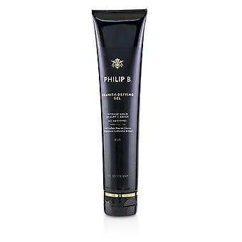 Philip B Gravity-Defying Gel (Intense Hold Sculpt + Shine - All Hair Types) 178ml/6oz