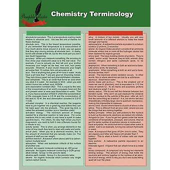 Chemistry Terminology by Master & Pamphlet