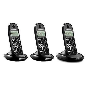 Wireless Phone Motorola E07000D48B3AES03 (3 Pcs) Black