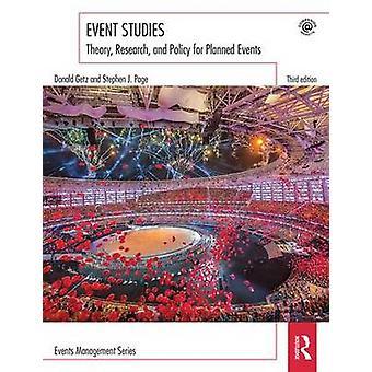 Event Studies af Donald Getz