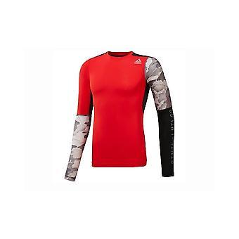 Reebok AC Graphic LS Comp Tee CD5211 universel toute l'année hommes t-shirt