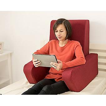 Muuttaminen sohvat una pehmeä villa vaikutus vaahto käsittelyssä työtyyny takaisin levätä - viini