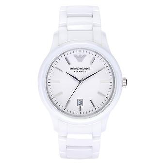 Armani Watches Ar1476 Men's White Ceramica Watch