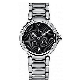 Edox Watches LaPassion 2 Hands Women's Watch 57002 3M NIN