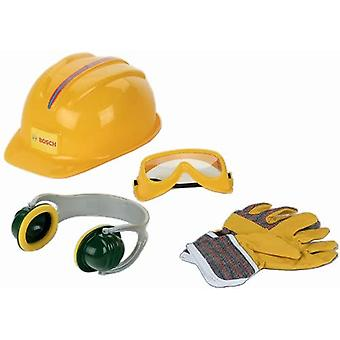 Theo Klein Bosch Accessories Set B 4PC with Helmet and Gloves For Ages 3+ and