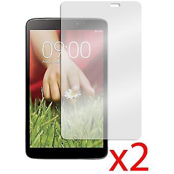 2x LG G Pad 8.3 LCD Screen Protector Cover Guard