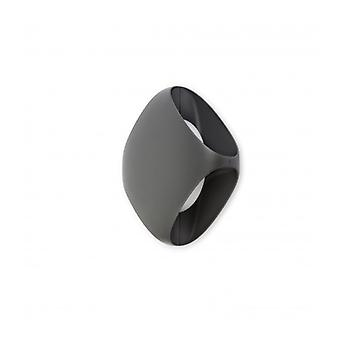 Bu-oh Dark Gray Garden Wall Light