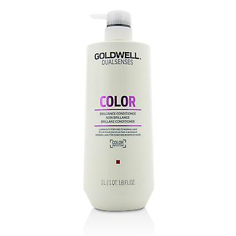 Dual senses color brilliance conditioner (luminosity for fine to normal hair) 215847 1000ml/33.8oz