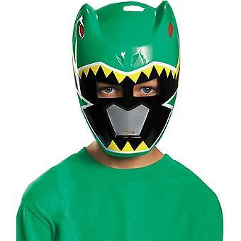Maske For grønne Ranger Dino afgift