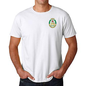 The York And Lancaster Regiment Embroidered Logo - Official British Army Ringspun T Shirt