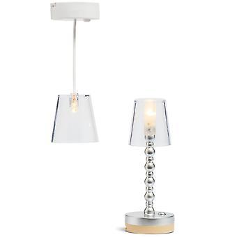 Vloer, plafondlamp batterij