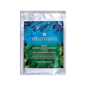 Silk Sheet Face Mask Biopeptides & Philippine Seaweed & Aloe