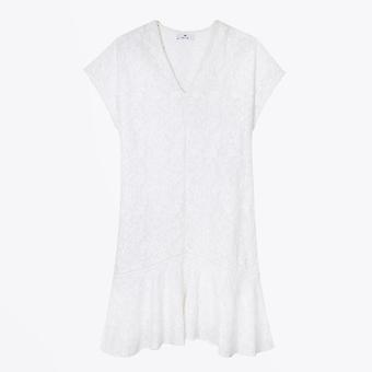 PS Paul Smith - Embroidered Anglaise Dress - Off White