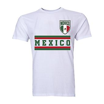Mexico Core Football Country T-Shirt (White)