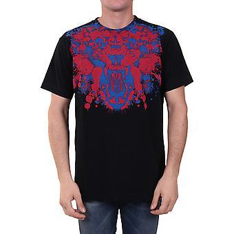 Marcelo Burlon Cmaa018f20jer0151025 Heren's Zwart Katoen T-shirt
