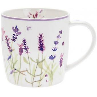 Lavender Breakfast Mug