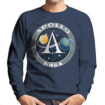 NASA Apollo programma Logo distintivo felpa