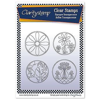 Claritystamp Tina's Summer Layering Circles & Masker