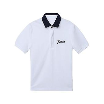 Lanvin Kids White Polo Shirt