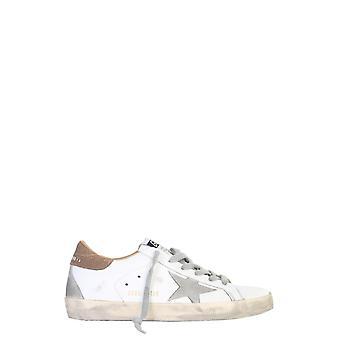 Ganso dourado Gwf00102f00014110219 Women's White Leather Sneakers