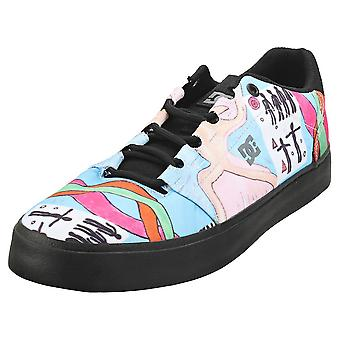 DC Shoes Hyde S Evan Mens Skate Trainers in Black Multicolour