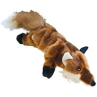 Gloria Fox Plush Dog Toy With Squeaker