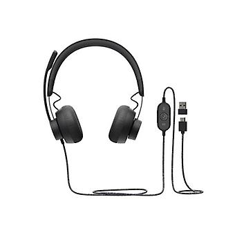 Logitech Zone Wired Usb Headset With Anc For Microsoft Teams