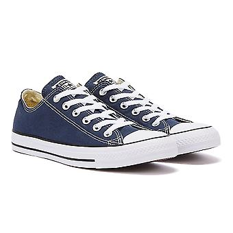 Converse CT Low Mens Navy Blue Canvas Trainers