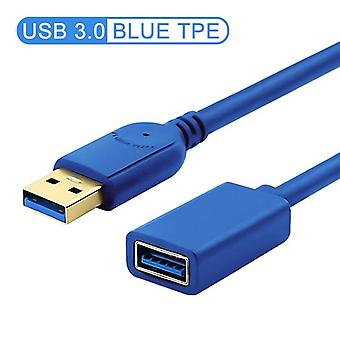 Usb Extension Cable Cord Usb3.0 - Male To Female Extender - Data Sync Cable,
