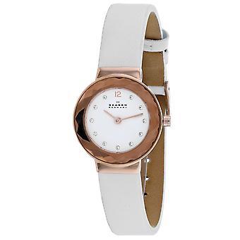 Skagen Damen's Leonora Weißes Zifferblatt Uhr - SKW2769