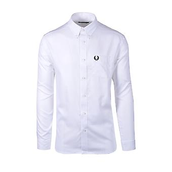 Fred Perry Oxford Camisa Blanca