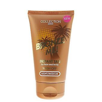 Collection 2000 Bronze Me! Instant Tan Wash Off Light/Medium 60ml Face & Body