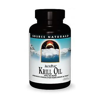 Source Naturals Arctic Pure Krill Oil, 500 MG, 120 Sftgls