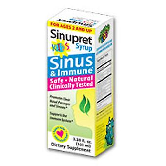Bionorica Sinupret Syrup For Kids, 3.38 oz