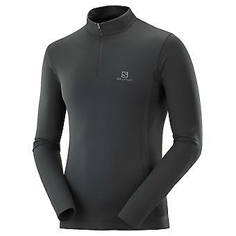 Salomon Udforsk Sømløse Half Zip LC1438300 kører hele året mænd sweatshirts